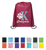 Prime Line® Non-Woven Drawstring Cinch-Up Backpack