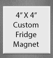 Good Value® 4 X 4 Square Magnet