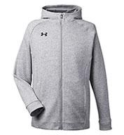 Under Armour Mens Hustle Full-Zip Hooded Sweatshirt