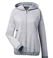 Under Armour Ladies Hustle Full-Zip Hooded Sweatshirt