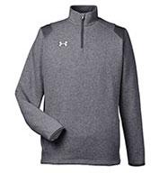 Under Armour Mens Hustle Quarter-Zip Pullover Sweatshirt