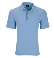 Greg Norman Mens X-Lite 50 Solid Woven Polo