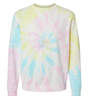 Independent Trading Co. Unisex Midweight Tie-Dyed Sweatshirt