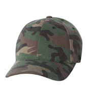 Flexfit Adult Cotton Camouflage Cap