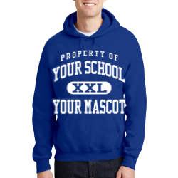 Stratmoor Hills Elementary School Custom Hooded Sweatshirt