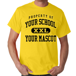 Sproul Junior High School Custom Adult T-shirt