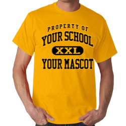 Drake Middle School Custom Adult T-shirt
