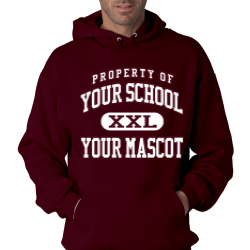 James Marlowe Elementary School Custom Hooded Sweatshirt