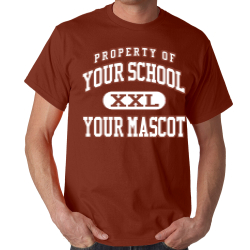 James Marlowe Elementary School Custom Adult T-shirt