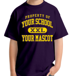 Saratoga Central Catholic High School Custom Youth T-shirt