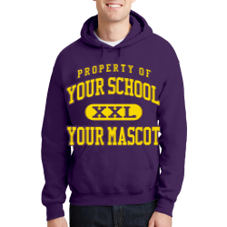 Saratoga Central Catholic High School Custom Hooded Sweatshirt