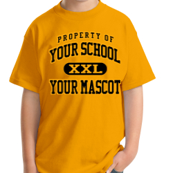 George Washington Elementary School Custom Youth T-shirt