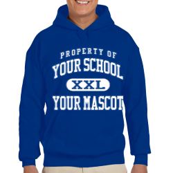 Burgard Vocational High School Custom Hooded Sweatshirt