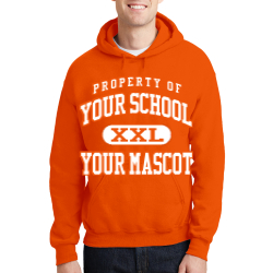 Ellet High School Custom Hooded Sweatshirt