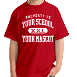 Manchester Middle School Custom Youth T-shirt