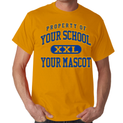 Hayes Elementary School Custom Adult T-shirt