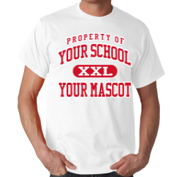 Lincoln Elementary School Custom Adult T-shirt