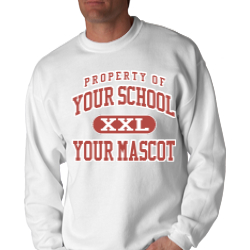 Lakeside Lower Elementary School Custom Crewneck Sweatshirt