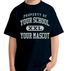 Warrior Run Middle School Custom Youth T-shirt