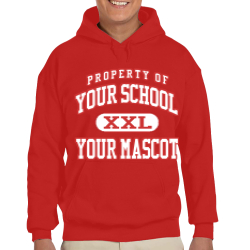 East North Street Academy Custom Hooded Sweatshirt