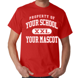 East North Street Academy Custom Adult T-shirt