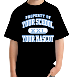 Powdersville Middle School Custom Youth T-shirt