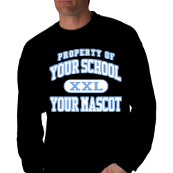 Powdersville Middle School Custom Crewneck Sweatshirt