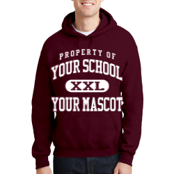Jack Anderson Elementary School Custom Hooded Sweatshirt