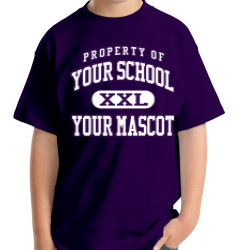 Canyon Junior High School Custom Youth T-shirt