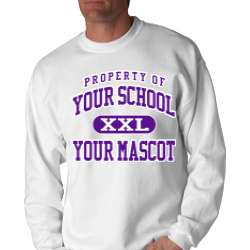 Canyon Junior High School Custom Crewneck Sweatshirt