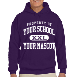 Canyon Junior High School Custom Hooded Sweatshirt
