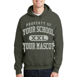 Dimmitt Middle School Custom Hooded Sweatshirt