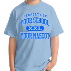 Timbers Elementary School Custom Youth T-shirt