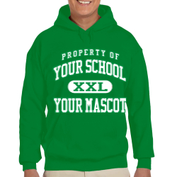 Whispering Pines Elementary School Custom Hooded Sweatshirt