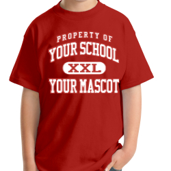 Robert E Lee Elementary School Custom Youth T-shirt