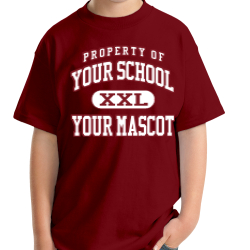 Timberwood Middle School Custom Youth T-shirt