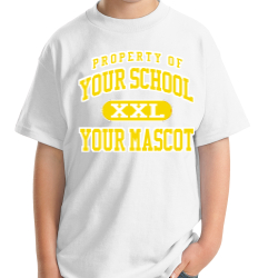 Popular Avenue Elementary School Custom Youth T-shirt