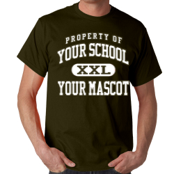 Foresthill Elementary School Custom Adult T-shirt