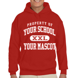 Pacelli High School Custom Hooded Sweatshirt