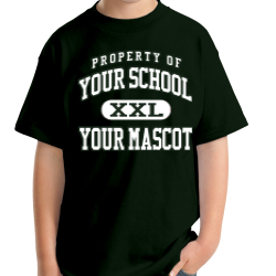 Black Hawk Elementary School Custom Youth T-shirt