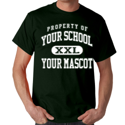 Black Hawk Elementary School Custom Adult T-shirt