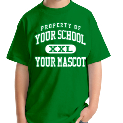 Whittier Elementary School Custom Youth T-shirt