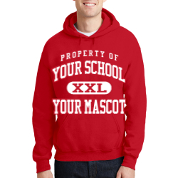 Lincoln County High School Custom Hooded Sweatshirt