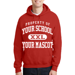 North Polk Junior Senior High School Custom Hooded Sweatshirt