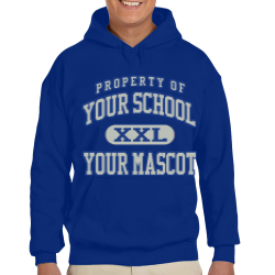 Big Bear Elementary School Custom Hooded Sweatshirt