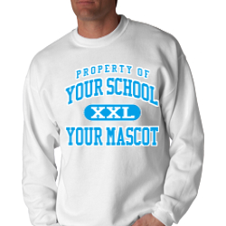 Jersey Community High School Custom Crewneck Sweatshirt