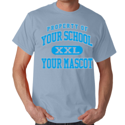 Jersey Community High School Custom Adult T-shirt