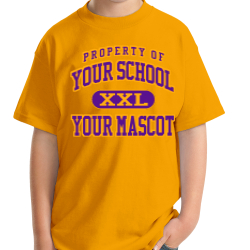 Kansas School Custom Youth T-shirt