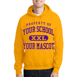 Kansas School Custom Hooded Sweatshirt