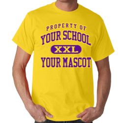 Kansas School Custom Adult T-shirt